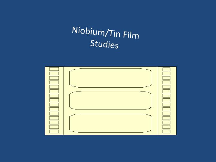 Niobium/Tin Film Studies