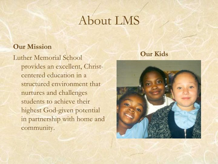 About LMS