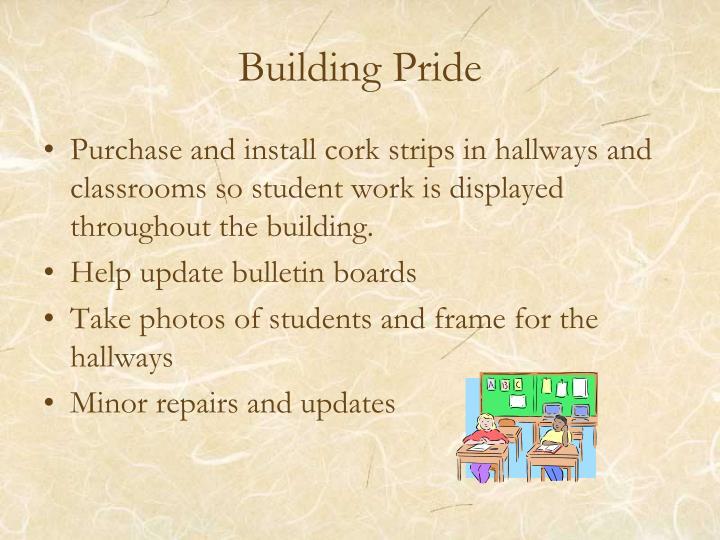 Building Pride