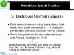 probability spesial distribusi12