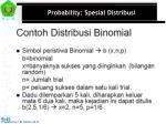 probability spesial distribusi2