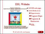 esl website