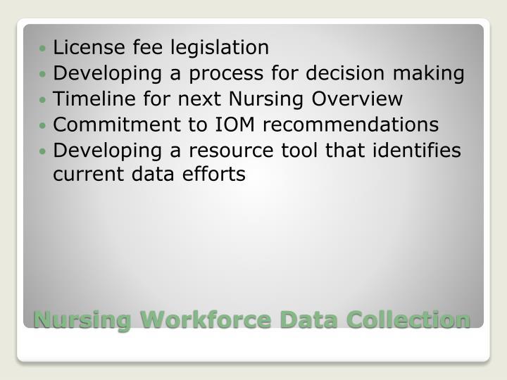 License fee legislation