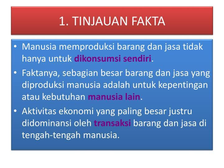 1. TINJAUAN FAKTA