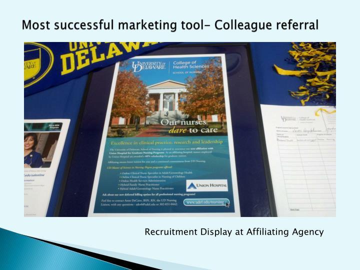 Most successful marketing tool-