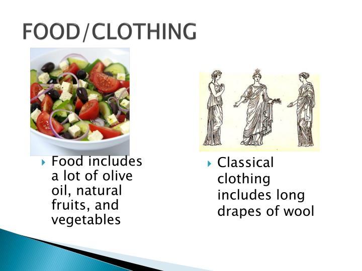 FOOD/CLOTHING