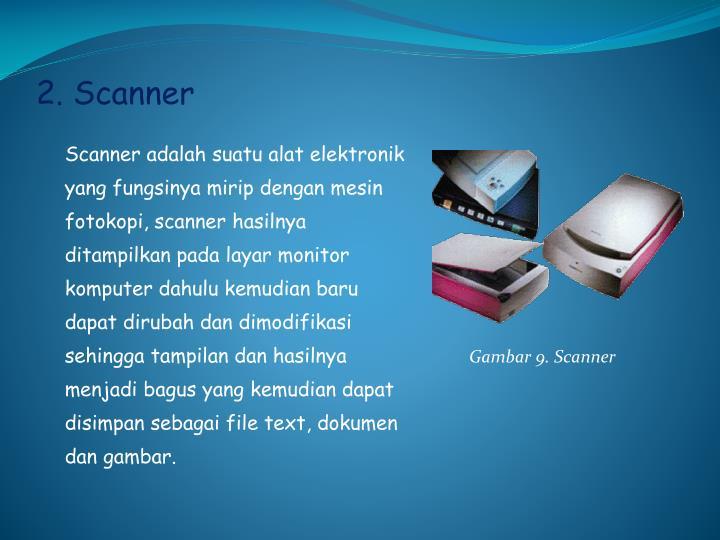 2. Scanner