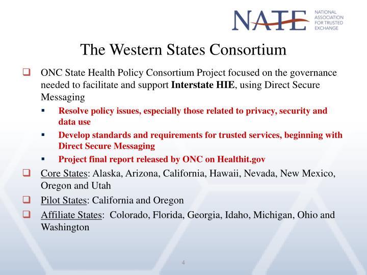 The Western States Consortium