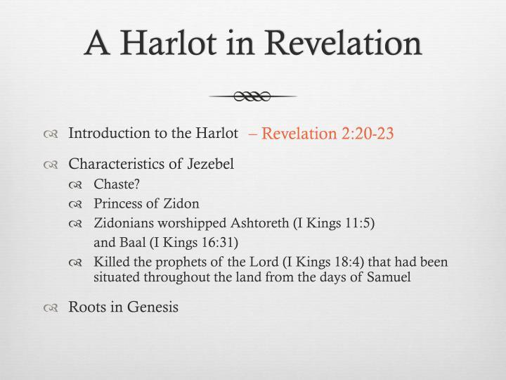 A Harlot in Revelation