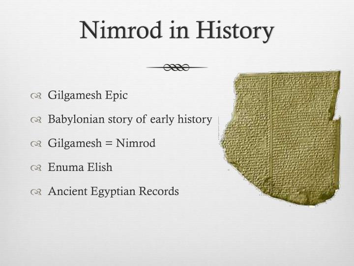 Nimrod in History