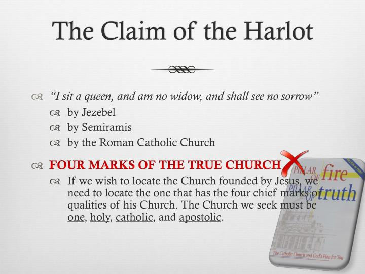 The Claim of the Harlot