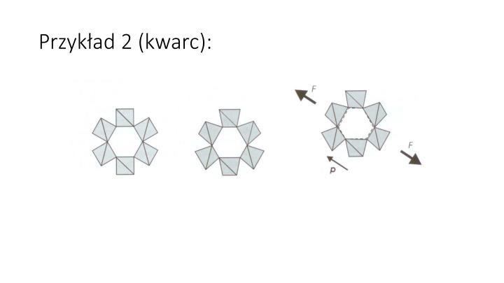 Przykład 2 (kwarc):