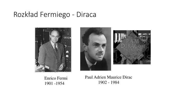 Rozkład Fermiego - Diraca