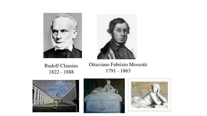Ottaviano Fabrizio Mossotti 1791 - 1863