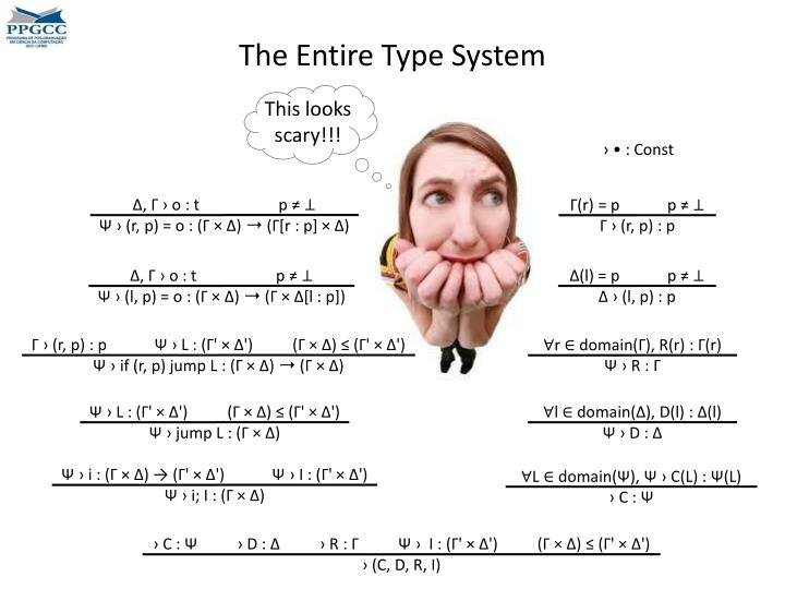 The Entire Type System