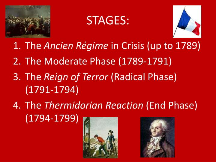 STAGES: