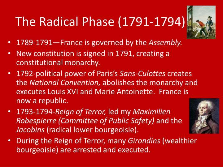 The Radical Phase (1791-1794)