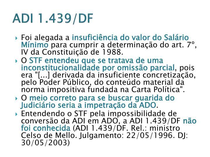 ADI 1.439/DF