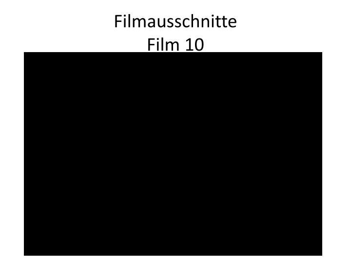 Filmausschnitte