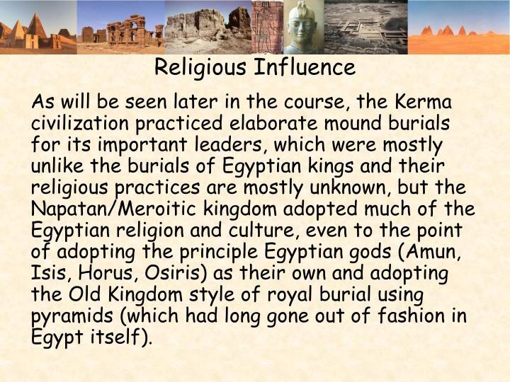 Religious Influence