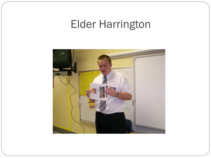 Elder Harrington