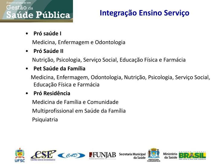 Integração Ensino Serviço