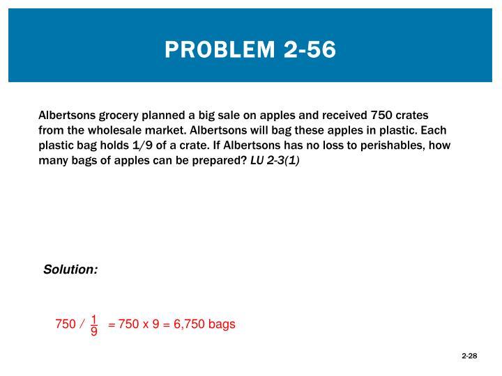 Problem 2-56