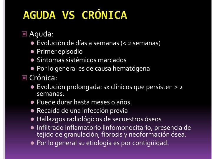 AGUDA VS CRÓNICA