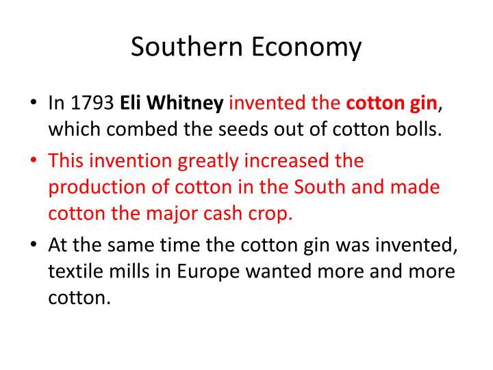 Southern Economy
