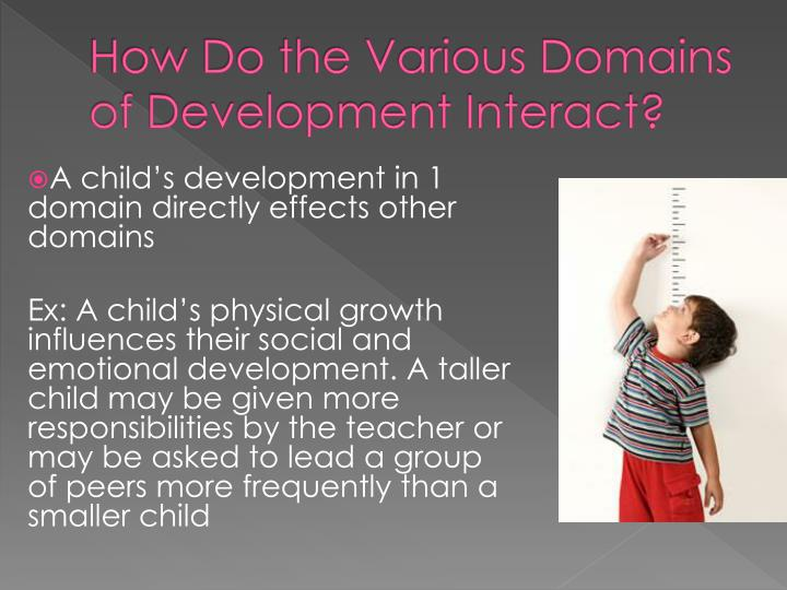 How Do the Various Domains of Development Interact?