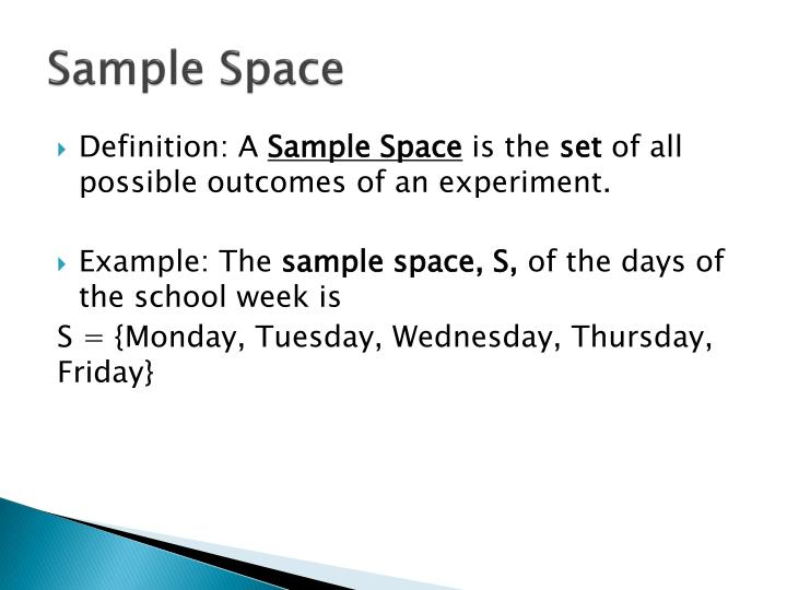 Sample Space