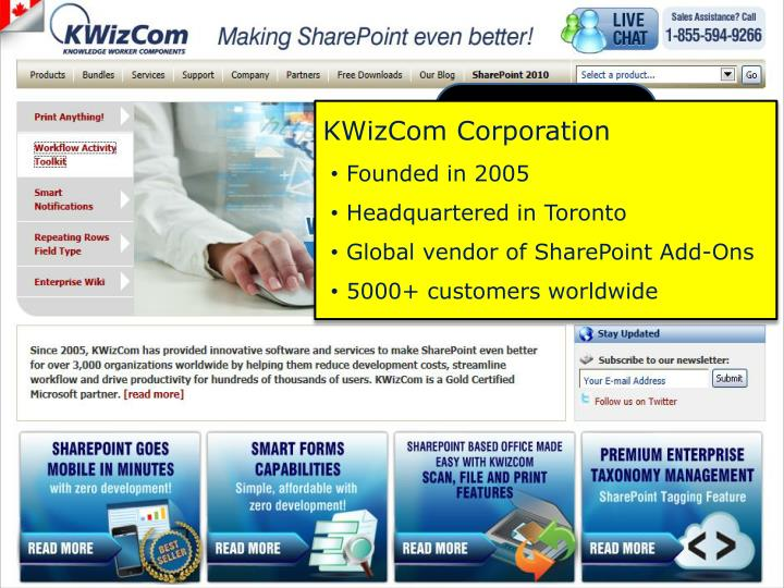 KWizCom Corporation