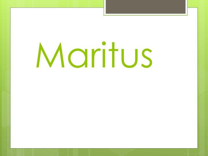 Maritus