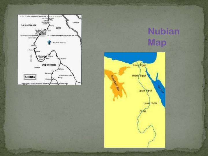 Nubian Map