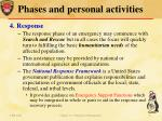 phases and personal activities4