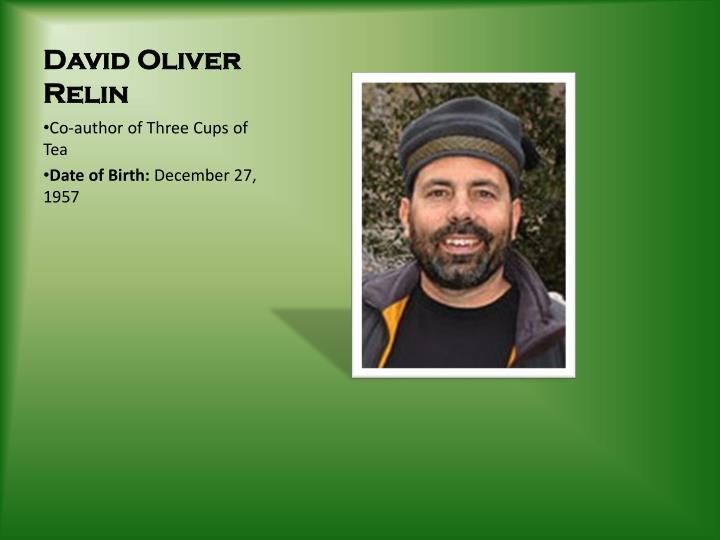 David Oliver Relin
