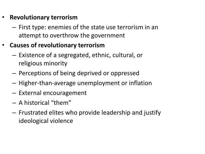 Revolutionary terrorism