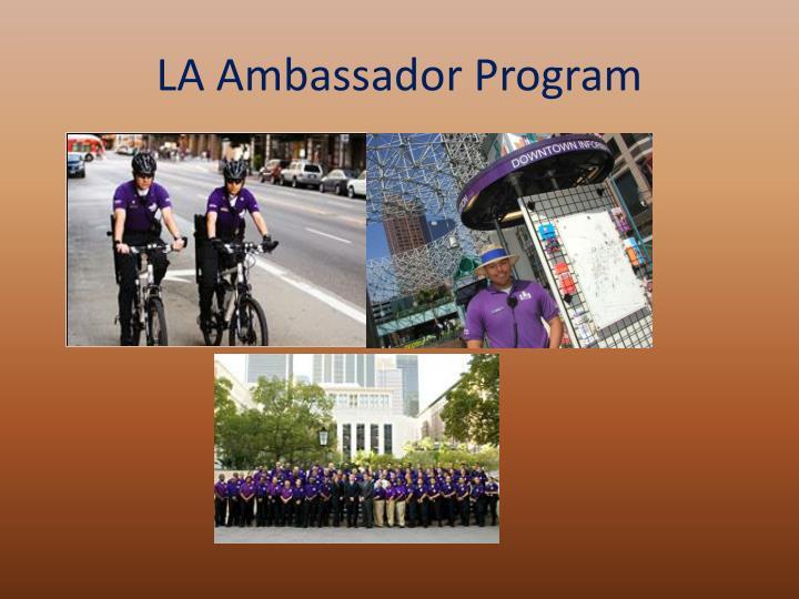 LA Ambassador Program