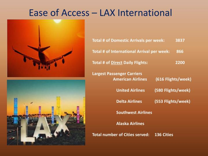 Ease of Access – LAX International
