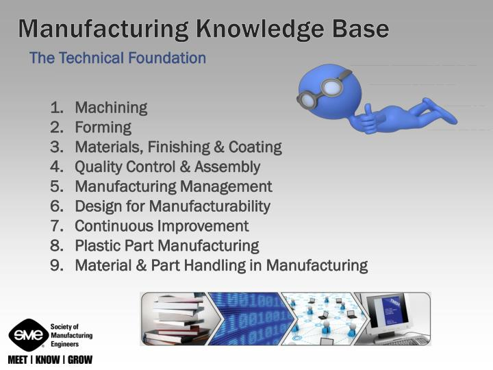 Manufacturing Knowledge Base