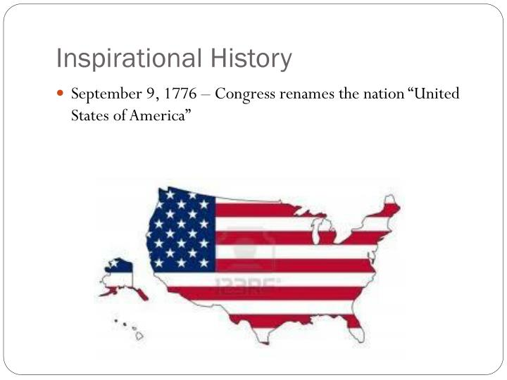 Inspirational History