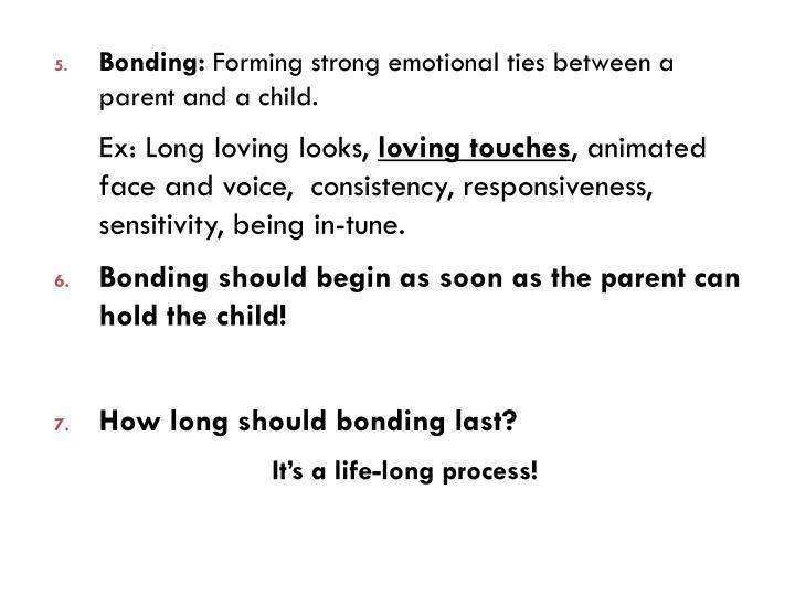 Bonding: