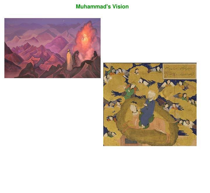 Muhammad's Vision