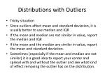 distributions with outliers1