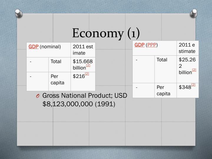 Economy (1)