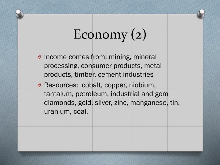 Economy (2)