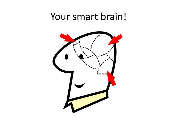 Your smart brain!