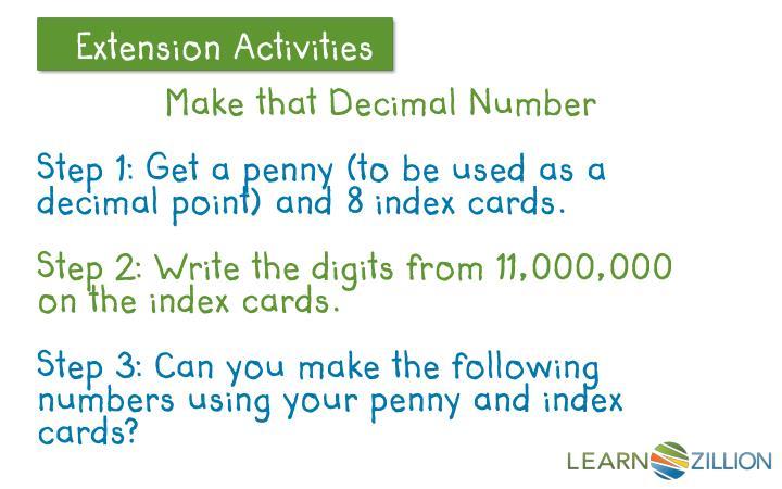Make that Decimal Number