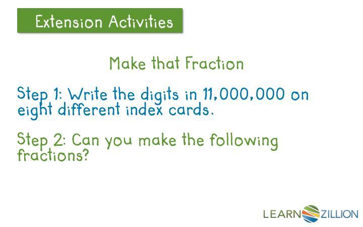 Make that Fraction