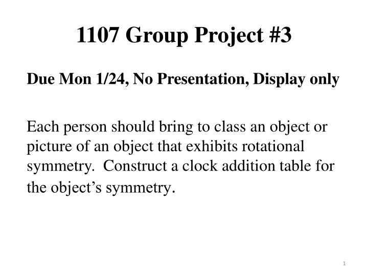 1107 group project 3